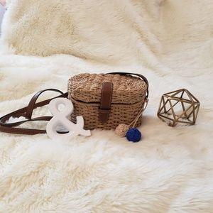 Fossil Tilly Woven Small Crossbody Bag